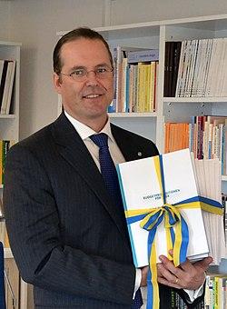 Finansminister Anders-Borg.