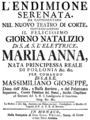 Andrea Bernasconi - Endimione - titlepage of the libretto - Munich 1766.png
