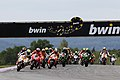 Andrea Iannone leads the pack 2014 Brno.jpeg
