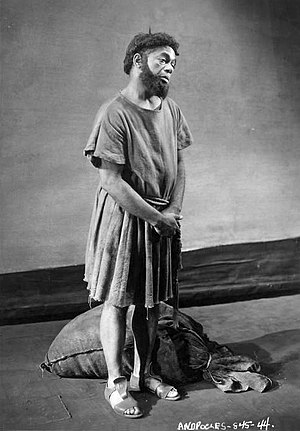 Dooley Wilson - Dooley Wilson as Androcles in the Federal Theatre Project production of Androcles and the Lion (1938)