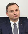 Andrzej Duda I posiedzenie Senatu IX kadencji (cropped).JPG
