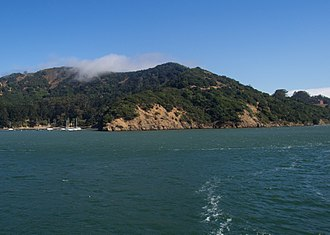 Angel Island (California) - Angel Island as seen from the Angel Island Ferry near Tiburon, California