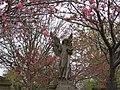 Angel amongst the blossom at Allanvale. - geograph.org.uk - 1276596.jpg