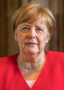 Меркель в 2019 году