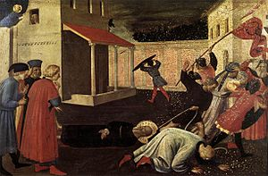 Baucalis - The Martyrdom of St. Mark by Fra Angelico