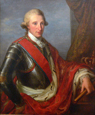 Ferdinand I of the Two Sicilies - Image: Angelika Kauffmann Portrait Ferdinand IV VLM