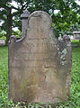 Ann Reed Tombstone, Oak Spring Cemetery, 2015-06-27, 01.jpg