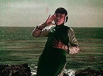 Anna May Wong - Anna May Wong in the Technicolor film The Toll of the Sea (1922)