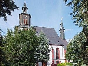Seelitz - Image: Annenkirche Seelitz
