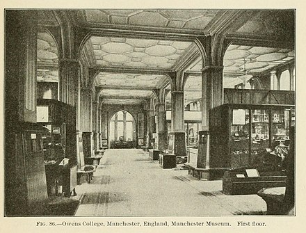 The first floor of the museum in 1903 Annual report of the Board of Regents of the Smithsonian Institution (1903) (18248384708).jpg
