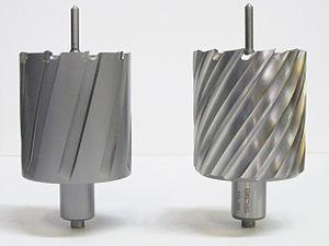 HSS ANNULAR CUTTER 40 MM DIAMETER  LENGTH 50 MM  SUITABLE TO DRILL MILD STEEL