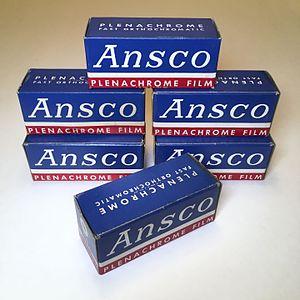 Ansco - Ansco Plenachrome 116 Film (Expired: July 1948)