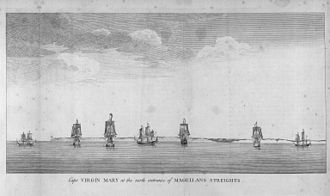George Anson's voyage around the world - Image: Anson Mason 1748 09