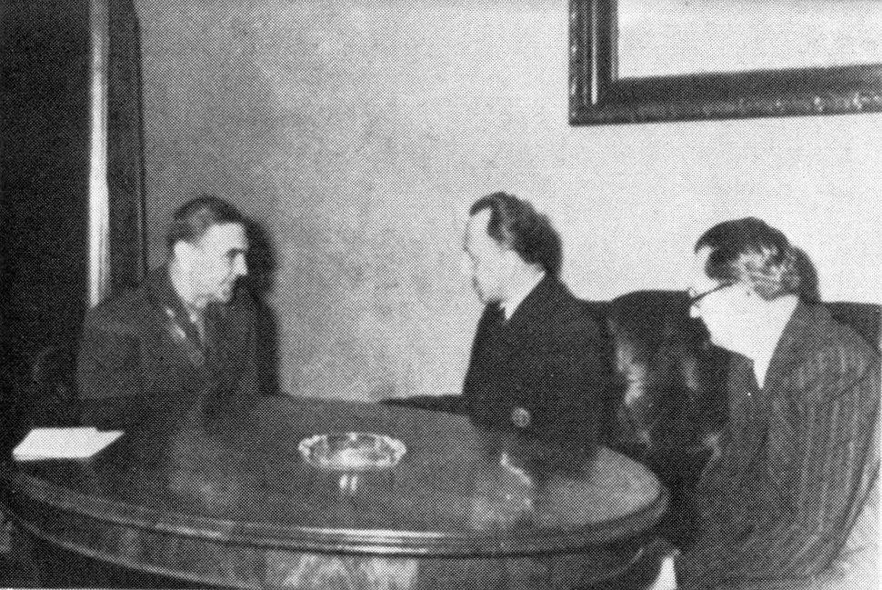 Ante Pavelić, Karl Murgaš and Mladen Lorković