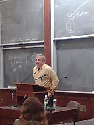 Anthony Shadid - Journalist Anthony Shadid in a talk at Harvard Law School