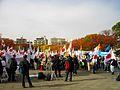 Anti-Chinese government rally on 13 November 2010 at Yokohama 01.jpg