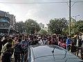 Anti CAB NRC protestors stopping traffic.jpg