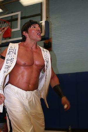 Antonio Thomas (wrestler) - Thomas in 2008.