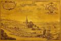 Antonius Triest's villa 'Belvedere' near Ghent. From Sanderus' Flandria Illustrata, Vol. 1 (Cologne, Cornelius ab Egmond, 1641), 129.png
