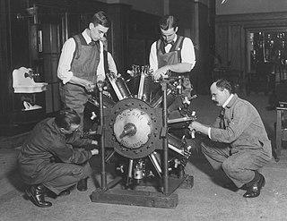 Anzani 20 1910s French aircraft piston engine