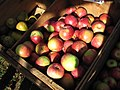 Apples from Red Apple Farm, at the Lexington Farmer's Market, Lexington MA.jpg