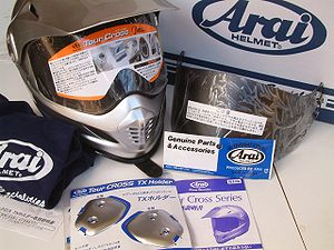 Arai Helmet - Arai XD helmet kit