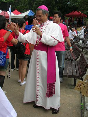 Archbishop John Hung Shan-chuan at TYD 2008.jpg