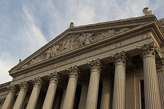 American civil religion - The National Archives Building in Washington, DC.