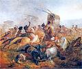 Argentine soldiers under Indian attack by Rugendas.jpg