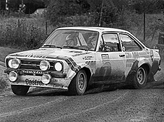 Ari Vatanen - Vatanen drives a Ford Escort RS1800 at the 1978 1000 Lakes Rally.