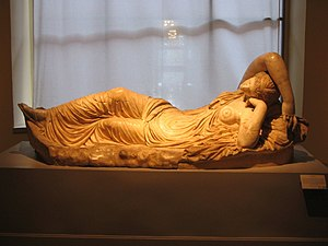 Sleeping Ariadne - Image: Ariadna dormida (Museo del Prado E 167) 01a