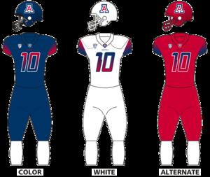 2016 Arizona Wildcats football team - Image: Arizwildcats uniforms 13