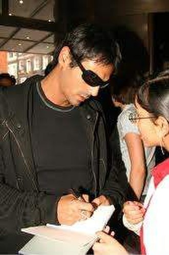 Arjun Rampal - Arjun Rampal signing autographs at Temptation photocall held at the Washington Hotel in London, England.