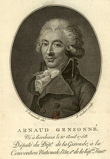 Armand Gensonné French politician
