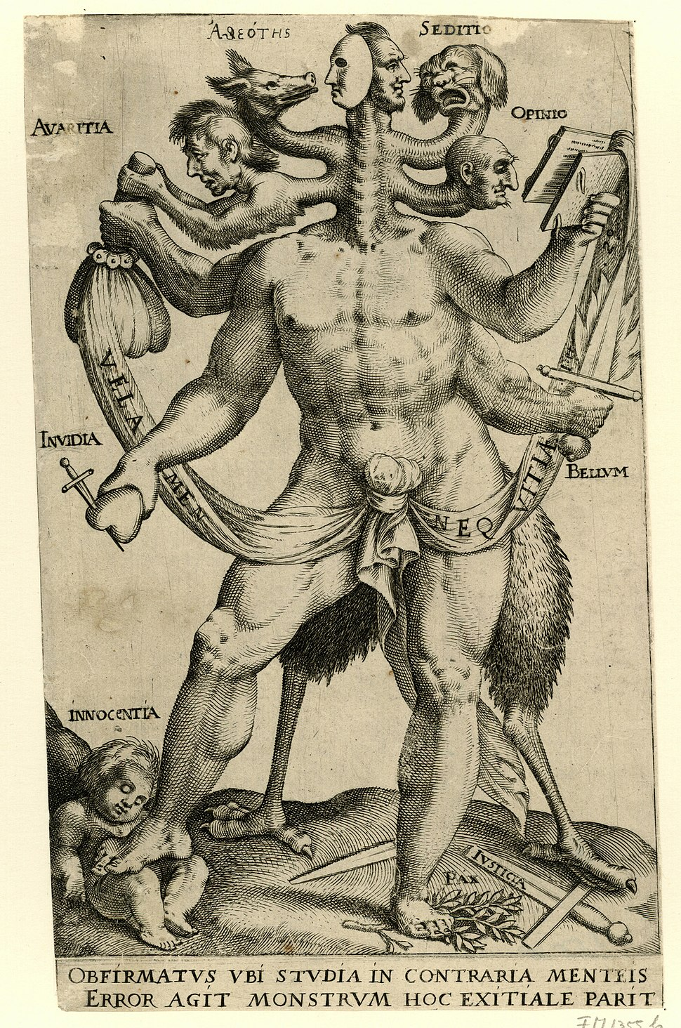 Arminianism as five-headed monster