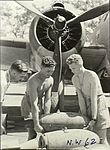 Armourers with 13 Squadron RAAF Hudson at Hughes NT Feb 1943 AWM NWA0060.jpg