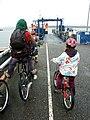 Arrival of the ferry, Flotta - geograph.org.uk - 1085839.jpg