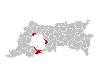 Flemish Region - The municipalities with language facilities near Brussels