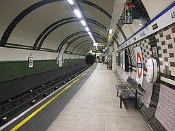 Arsenal station northbound