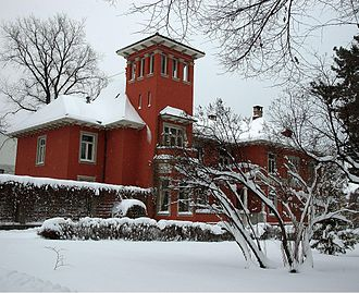 Germanische Leitstelle - Drammensveien 99 in Oslo, the villa containing the offices of Germanische Leitstelle in Norway as well as Ahnenerbe's Norwegian mission 1941-43