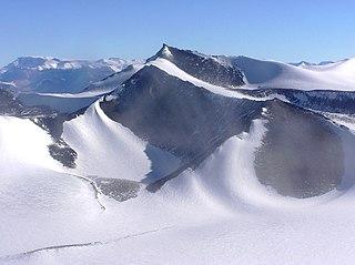 Asgard Range mountain range