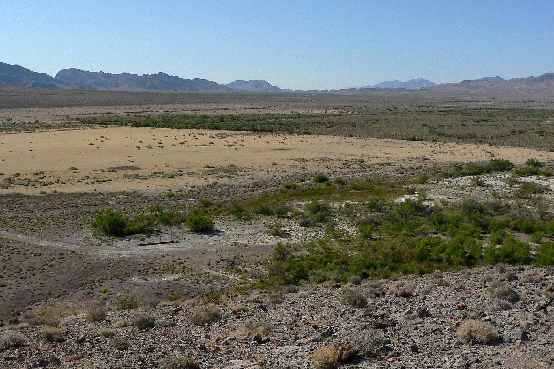 Ash meadows national wildlife refuge wikimedia commons for Fish springs nevada