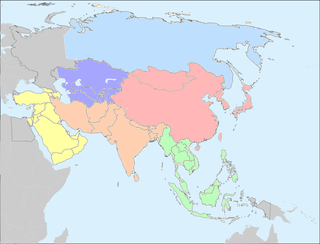 United Nations geoscheme for Asia