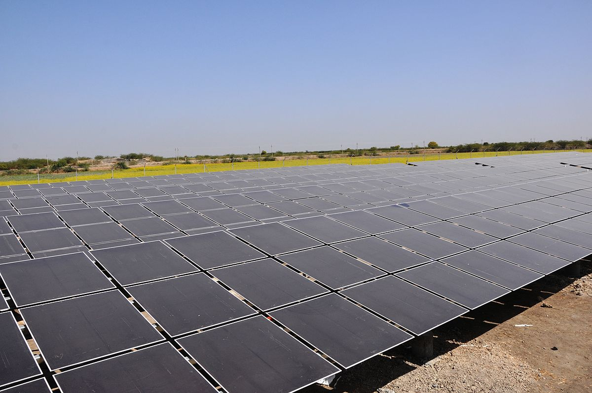 Solar Power In Gujarat Wikipedia