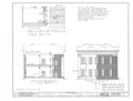 Athens College, Founder's Hall, Beaty Street, Athens, Limestone County, AL HABS ALA,42-ATH,1- (sheet 4 of 10).png