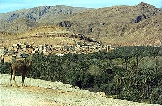 Boumalne Dades - View of Boumalne Dades