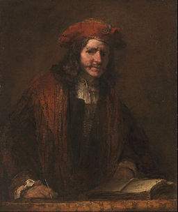 Attributed to Rembrandt van Rijn - The Man with the Red Cap - Google Art Project