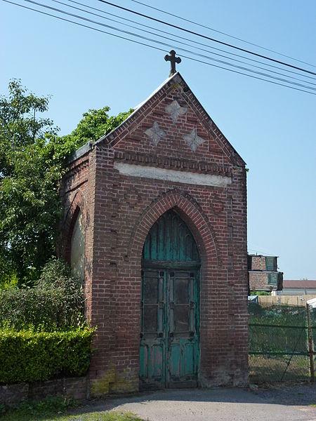 Auchy-lez-Orchies (Nord, Fr), oratoire à Monneville, D954