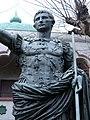 Augustus of Prima Porta replica Rosicrucian Park closeup.JPG