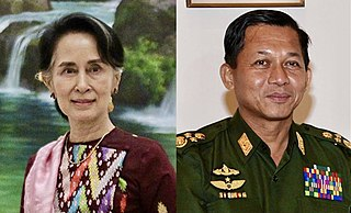 2021 Myanmar coup détat Military takeover of government in Myanmar